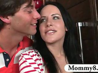 Brunette Cute MILF Teen
