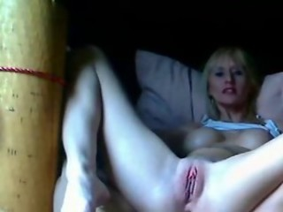Masturbating MILF Orgasm Pussy Shaved Webcam