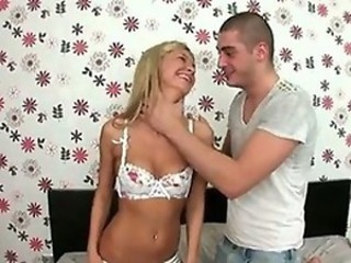 Blonde Bombshell gets railed by her lover.