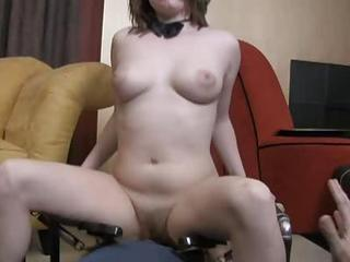 Horny Hairy Girl With Big Nipples Gets T...