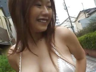 Asian Cute Outdoor Public Teen