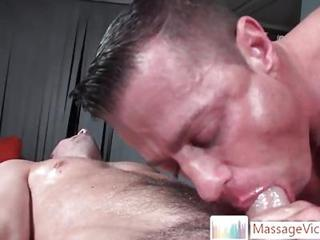 Extreme Deepthroat While Doing Massage B...