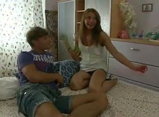 Double Stuffed teen Whore _: amateur teens threesomes