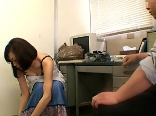 Asian  Office Teen Voyeur