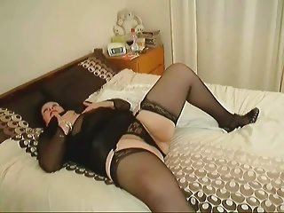 BBW Lingerie Mature Stockings