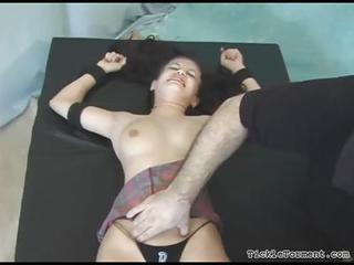Fully Bound Girl Tickled And Giggling