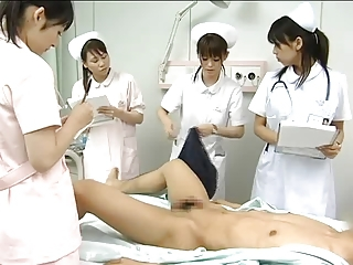 Asian CFNM Japanese Nurse Teen Uniform