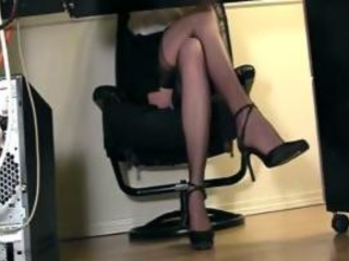 Legs Stockings Voyeur
