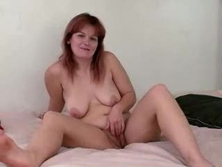 Mature Redhead Amateur Blowjob Huge Facial