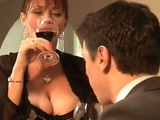 Big Tits Drunk MILF Natural Older