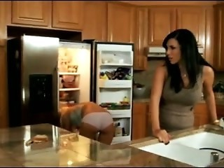 Sexy Lesbians Get It On In The Kitchen!!!!!!!