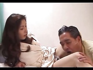 Japanese Housewife fucked by a Strange Guy  Uncensored