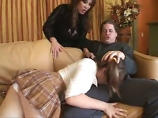 Couple Sharing The Babysitter...F