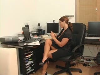 European German MILF Office Secretary