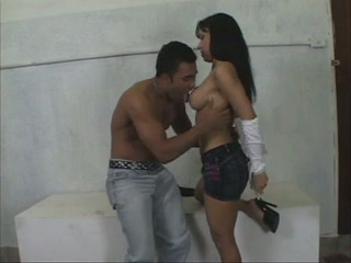 Great hardcore sex of horny brazilian