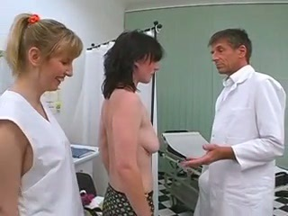Doctor MILF Threesome