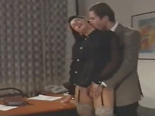 European Italian MILF Office Secretary Vintage