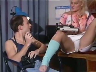 European MILF Office Panty Vintage