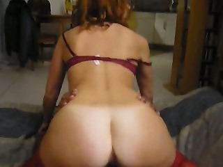 Amateur Ass Cuckold Interracial MILF Riding