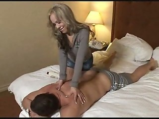 Shemale Celeste Masseuse Gives Excellent Blowjob  amp; Fucked Bareback