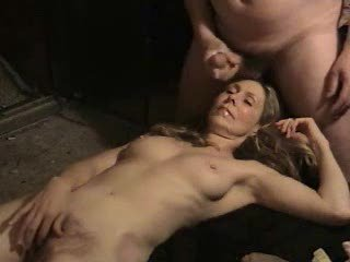 Blonde Cumshot Hairy Mature