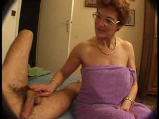 European French Handjob Mature Threesome Voyeur