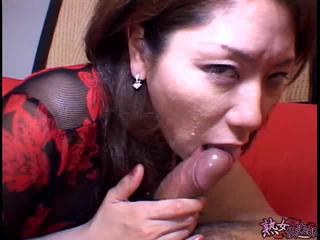 Asian Blowjob CFNM MILF Pov