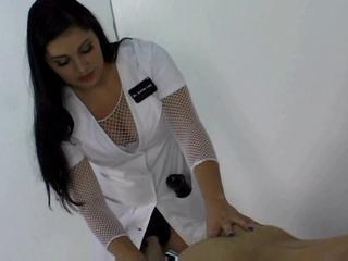 Nurse With Big Strapon Has Sex With Her Male..  Sex Tubes