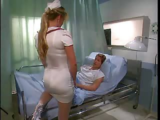 Long hair MILF Nurse Uniform