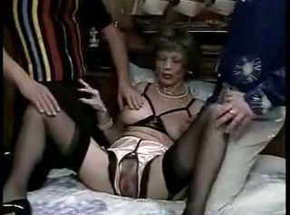 Fisting Mature Stockings