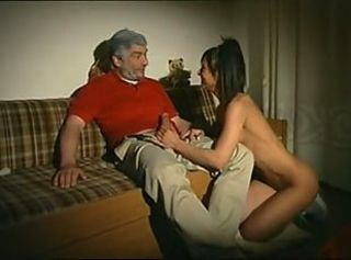 Daddy Daughter Handjob Old and Young Teen