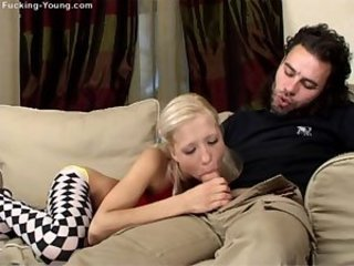 Young blond fucked