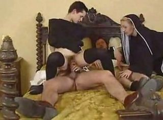 Groupsex Hairy Nun Riding Teen Uniform Vintage