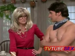 Blonde Glasses MILF Vintage