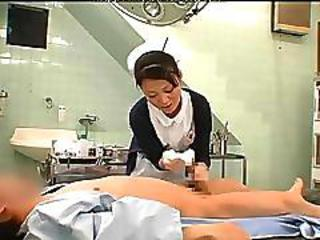 Treatment Has A Nurse Censored Asian Cumshots