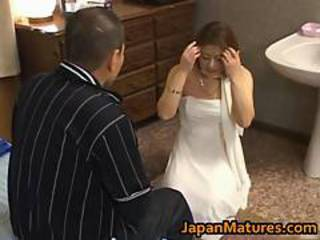 Asian Bride MILF Pornstar