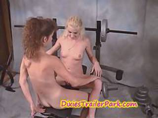 Bisexual Flexible Man Strapon