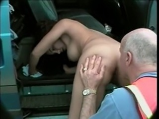 LATIN TEEN FUCK'S OLD MAN