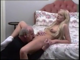 Blonde Licking Old and Young