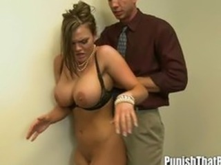 Busty Mackenzee Pierce Rough Fuck
