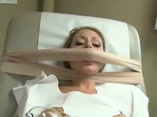 A Naughty Gynecologist Using Dildos To A Lovely Patient