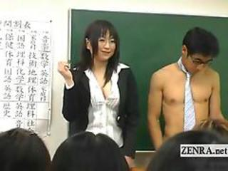 Asian MILF School Teacher