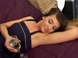 Brunette Drunk Teen