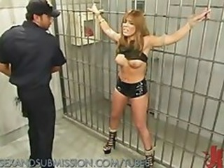 Latex MILF Prison Uniform