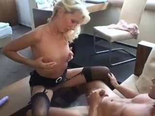Amateur European German MILF Stockings Wife