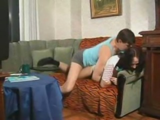 Clothed Doggystyle Sister Teen