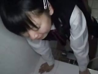 Cute Japanese Student Creampied