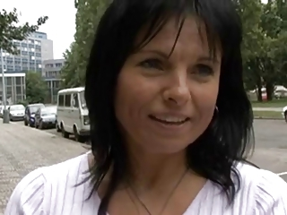 Mature MILF Outdoor Public