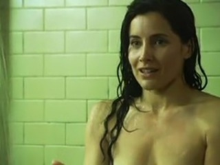 Rachel Shelley and her hot nips are harassed inside the women's prison