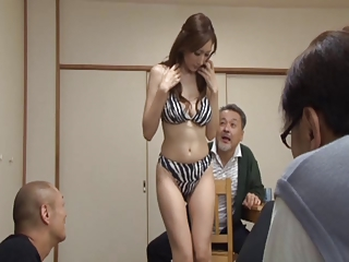julia-forced to strip for neighbor men 1-by PACKMANS.